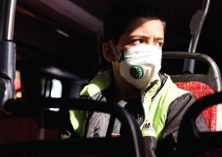 سوار شدن به اتوبوس در تبریز بدون ماسک، ممنوع است