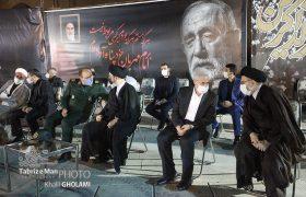 مراسم چهلم فخرالذاکرین در مصلی تبریز