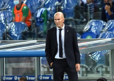 اظهارات زیدان پس از تساوی رئال مادرید در شروع لالیگا