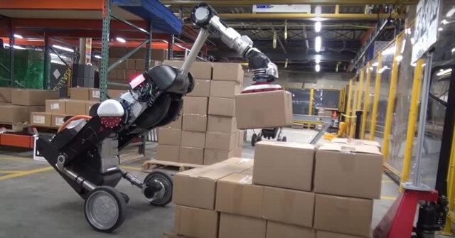 برنامه بعدی توسعه رباتهای لجستیک است