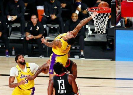 لیکرز پیروز نخستین بازی فینال کنفرانس غرب NBA