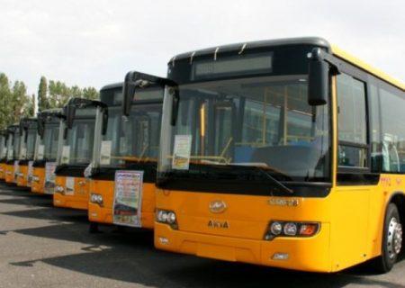 ناوگان اتوبوسرانی تبریز آماده ارایه خدمات به دانشآموزان و دانشجویان است
