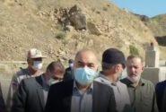 بازدید فرمانده کل سپاه از مناطق مرزی خداآفرین