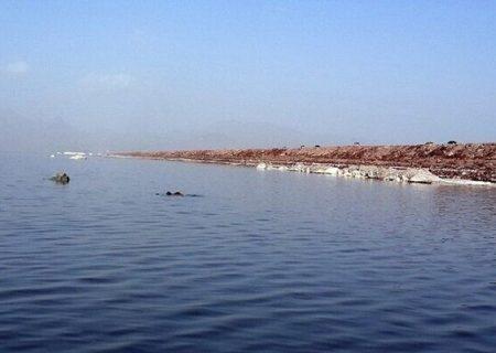 تراز دریاچه اورمیه در مسیر صعودی قرار میگیرد