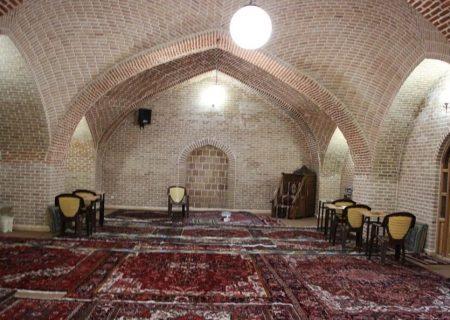 مرمت و ساماندهی مسجد شرقی مجموعه تاریخی حسن پادشاه پایان یافت