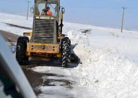 راه ۲۵ روستای آذربایجانشرقی بسته است