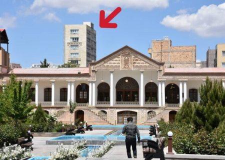 بافت تاریخی تبریز، حیات خلوت بساز بفروشها