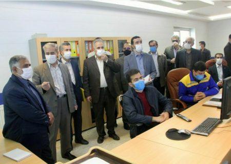 بازدید معاون انرژی سازمان پدافند غیرعامل کشور از شرکت گاز آذربایجان شرقی