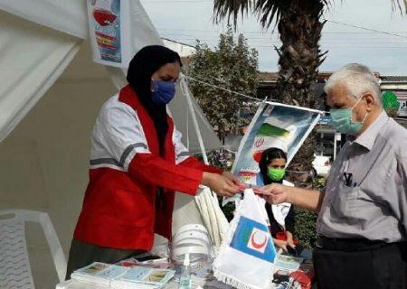 مشارکت بیش از ۷۵۰۰ نفر از جوانان هلال احمر در طرح «آمران سلامت»