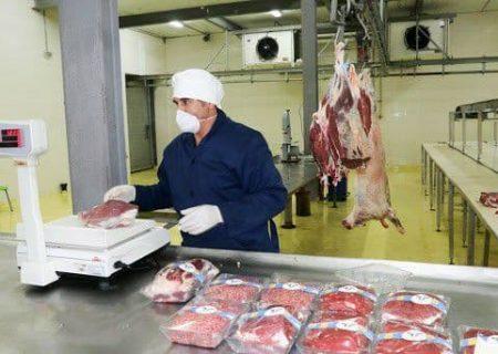 تحویل گوشت فروشگاه مرکزی کشتارگاه تبریز درب منازل شهروندان