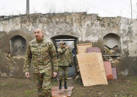 انتقاد علیاف از یونسکو بابت اقدامات تخریبی ارمنستان