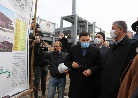 تاکید وزیر راه بر تسریع در تکمیل خط آهن میانه- تبریز