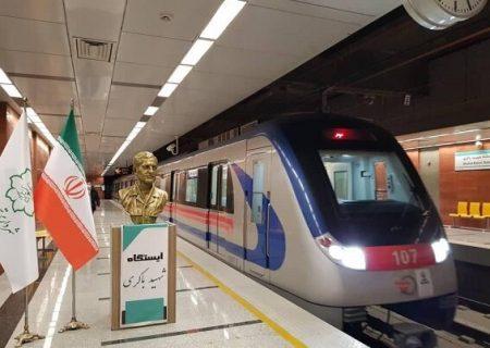 رییس جمهور چهار ایستگاه جدید قطار شهری تبریز را افتتاح کرد