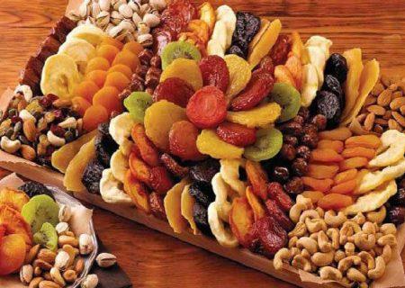 ارتباط مصرف میوه های خشک با رژیم غذایی و سلامت بهتر