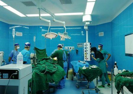 اولین عمل جراحی مغز و اعصاب در سقز با موفقیت انجام شد
