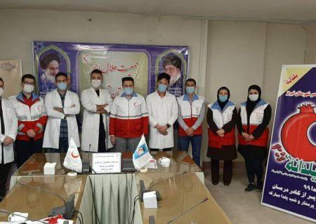 تجلیل از پرستاران جوانان هلال احمر شهرستان تبریز