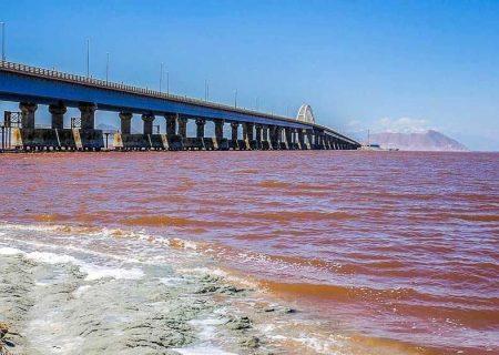 وسعت دریاچه ارومیه به ۲۸۰۰ کیلومتر مربع رسید