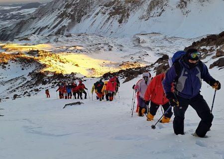 صعود به قله سبلان نیاز به سازماندهی امدادی دارد