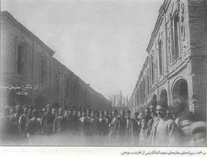 مجید الملک تبریز؛ اولین خیابان ایران که با چراغ برق روشن شد
