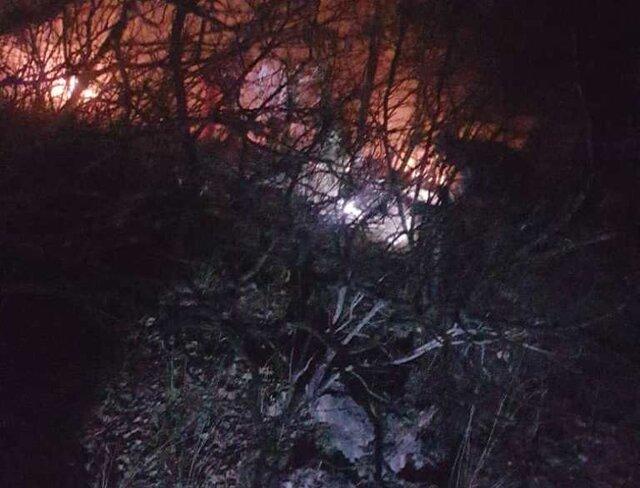 مهار آتش سوزی در منطقه حفاظت شده ارسباران