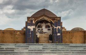 """شلاق مرمت غلط و سلیقهای بر تن کبودِ """"مسجد کبود"""""""