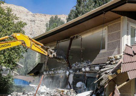 ۲۱ ویلا در شهرستان تبریز تخریب شد