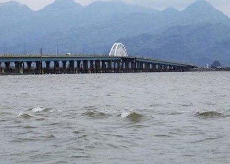وسعت دریاچه ارومیه به ۲ هزار و ۸۴۲ کیلومتر مربع رسید