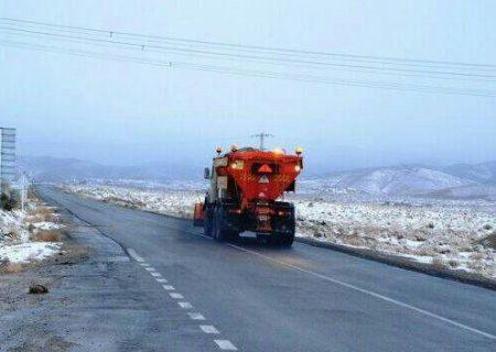 ۹۰ هزار کیلومتر باند از راههای آذربایجانشرقی برفروبی شد