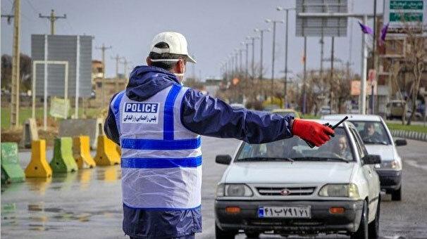 جولان کرونایی خودروهای غیربومی در خیابانهای تبریز