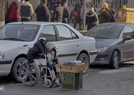 غربت کرونایی معلولان در عصر کرونا/ اشتغال با عزت زیر آسمان شهر