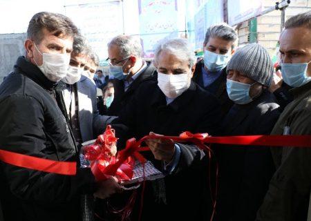 ۲ هزار واحد مسکونی زلزلهزده قطور با حضور معاون رییس جمهوری افتتاح شد