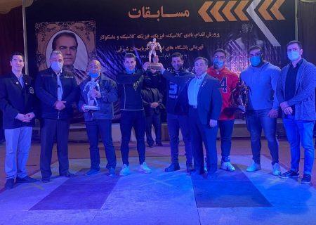 نفرات برتر مسابقات پرورش اندام آذربایجانشرقی مشخص شد