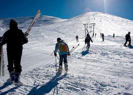پیست اسکی سهند در حال آمادهسازی است