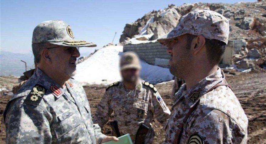 فرمانده نیروی زمینی سپاه از مرزهای شمال غرب بازدید کرد