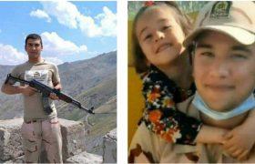 پیکر سرباز شهید سروری در اصلاندوز تشییع شد