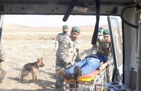 تیپ ۲۵ ارتش رزمایش آمادگی در برابر حوادث در تبریز برگزار کرد