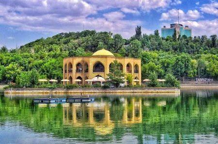 رد پای پرنسس یونانی در محبوبترین پارک تبریزیها