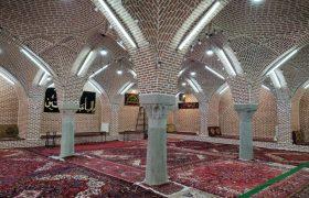 حفاظت و مرمت مسجد خلخالی بازار جهانی تبریز