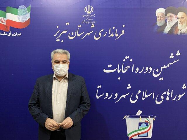ثبت نام ۲۰ نفر در روز نخست انتخابات شورای شهر تبریز