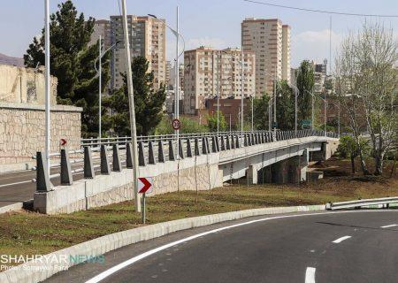 بهرهبرداری از پل مهندس اشرفنیا در تبریز