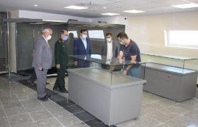 ویترینهای موزه دفاع مقدس تبریز نصب شد