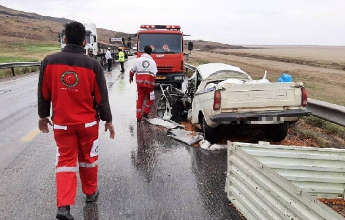 تصادف رانندگی در آذربایجانشرقی ۲ کشته بر جا گذاشت
