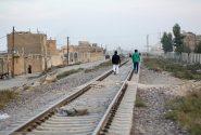 ۱۳ کیلومتر از راهآهن سراسری از مناطق مسکونی مراغه عبور میکند
