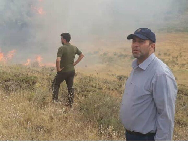 ۲۵۰ هکتار از اراضی مرند در آتش سوخت