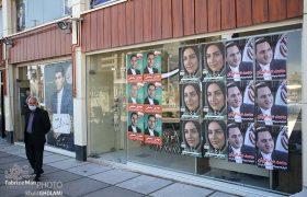 تبلیغات در خیابانهای سهند