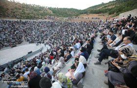 کنسرت شهریاری در آمفیتئاتر روباز عینالی