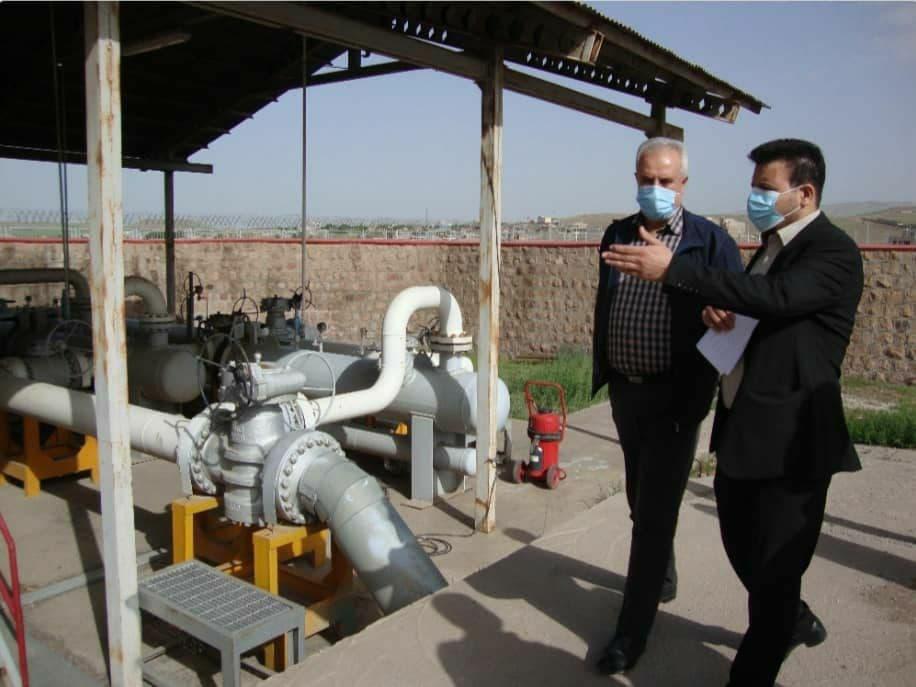 روند پروژههای گازرسانی مراغه مطلوب است