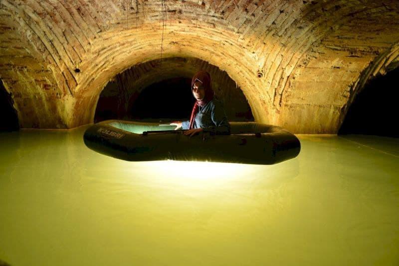 انتشار اولین تصاویر از آبراههای مرموز زیرزمینی در استانبول