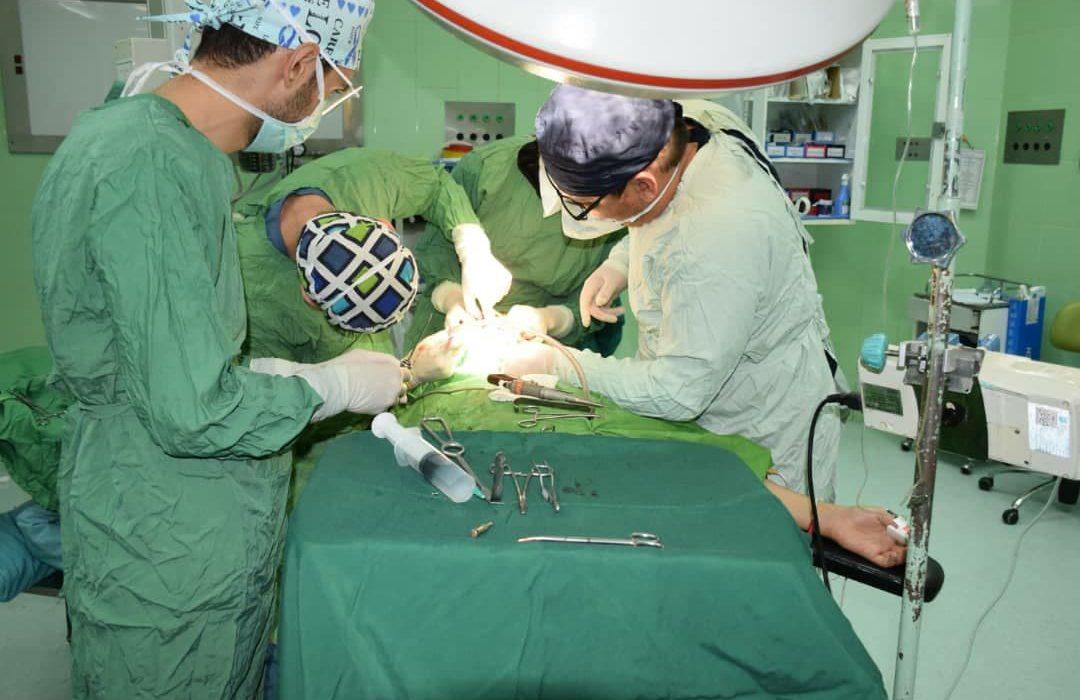 اولین عمل جراحی کام مصنوعی با استفاده از پرینت سه بعدی در تبریز