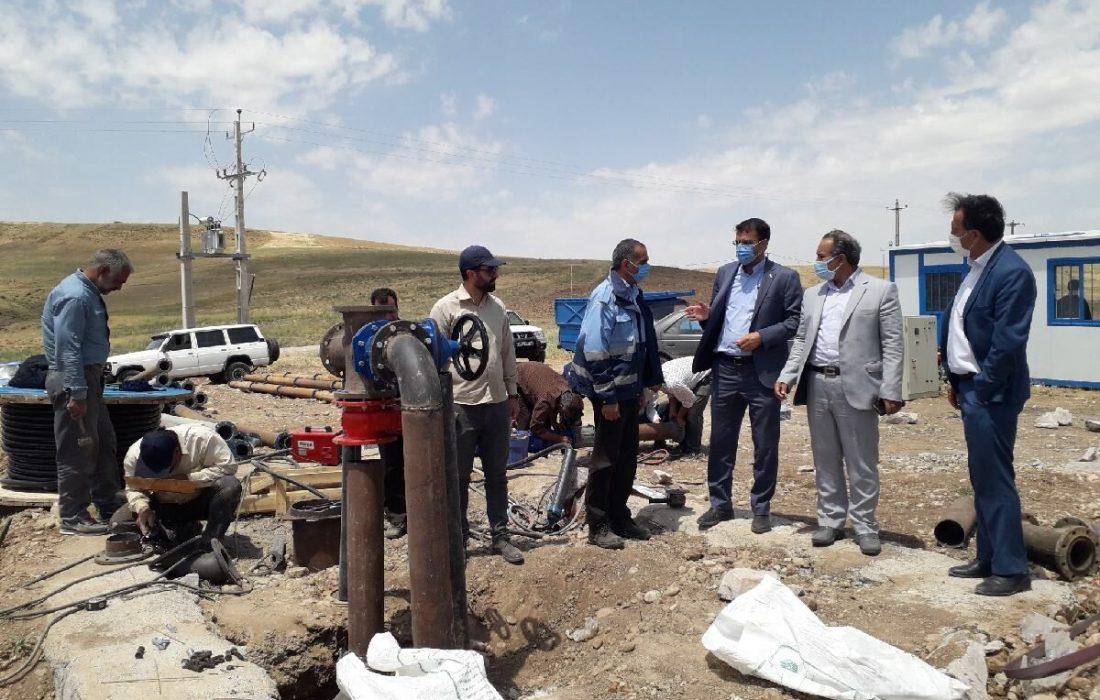 ۳۰ درصد به ظرفیت تولید آب شرب روستاهای سراجو افزوده میشود